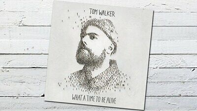 Tom Walker Performer What a time to be alive CD Album New