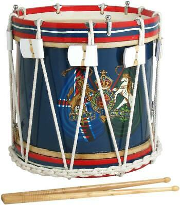 """Atlas MILITARY STYLE SIDE DRUM, 14"""", gut snare. With drumsticks. From Hobgoblin"""