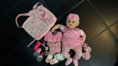 Baby Annabell Doll bundle, doll, clothes, cot, car seat, changing bag,immaculate