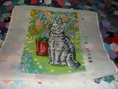 Complete cat tapestry