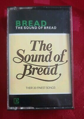 Bread - The Sound Of - Best of   Cassette Tape  ELEKTRA White Shell Black Text