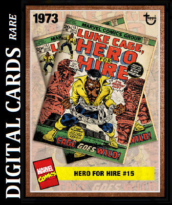 Topps Marvel Collect Card Trader Archives Wave 3 Hero For Hire #15 Luke Cage