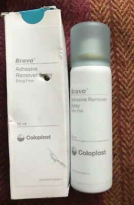 Brava Adhesive Remover Spray    Colostomy    Ileostomy  50mls
