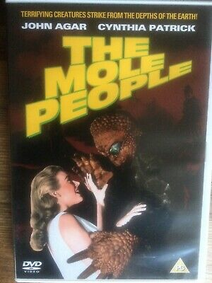 THE MOLE PEOPLE - John Agar - Region 2 DVD