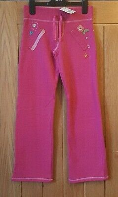 New Next Girls Pink Joggers / Trousers Age 11 Years / 146 cms Winter/Warm/Soft