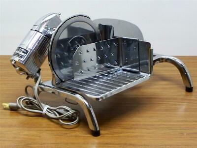 Vintage RIVAL Electr-O-Matic 1101E/2 Electric Meat Cheese Food Slicer Chrome