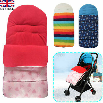 Universal Footmuff Fit Pushchair Buggy Stroller Pram Baby Cosy Toes Multi Colour