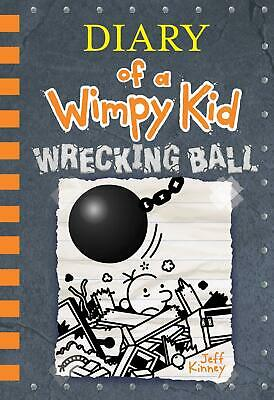 Most Reading Book Hardcover # New # Wrecking Ball (Diary of a Wimpy Kid Book 14)