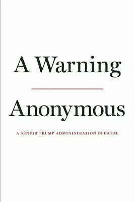 A Warning by Anonymous Hardcover
