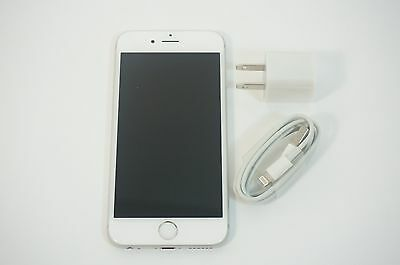 Very Good Used Apple iPhone 6S 64GB Unlocked GSM AT&T TMobile Silver White A1633