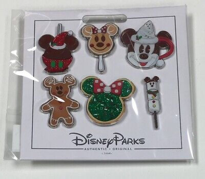 2019 Disney Parks Christmas Holiday Park Foods Treats Disney 6 Pin Booster Set