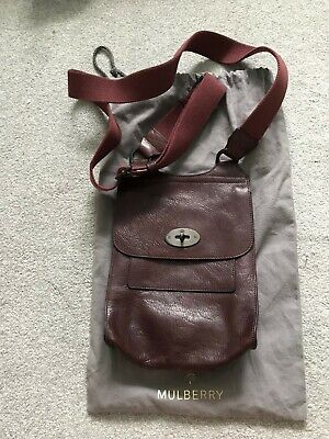 Mulberry Anthony messenger bag (small) - oxblood - Hardly Used!