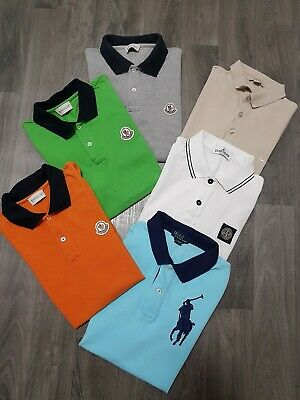 BOYS CLOTHING BUNDLE AGE 14Yr FIT (12-13) DESIGNER,POLO TOPS,MONCLER,RALPH,STONE