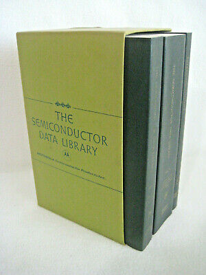 Motorola The Semiconductor Data Library Vol 1-2 And Reference Volume