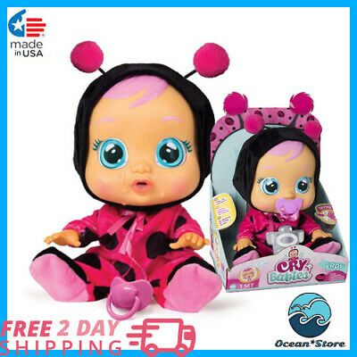 The Ladybug Doll, Cry Babies Lady, best little Girls Gift 2019