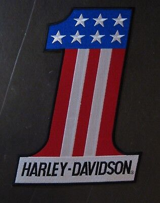 Harley Davidson #1 Evel Knievel Large Patch