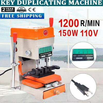 110V Key Duplicating Machine Key Guide Reproducing Cutter Engrave Key Reproducer