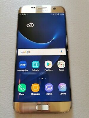 Samsung Galaxy S7 Edge - SM-G935F - 32GB - Gold Platinum (Unlocked) Smartphone
