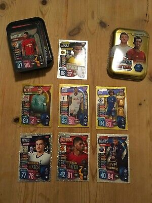 Topps Match Attax Season 2019/20 Trading Card Mini Tin Uefa Champions League