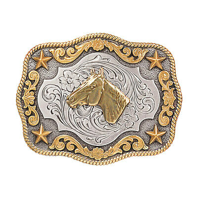 Youth Horse Head Buckle,Nocona