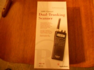 Radio Shack Pro-84 Scanner and ac adapter