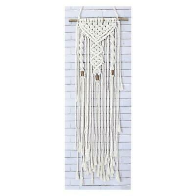 Birch Macrame Wall Hanging Kit - Twists / Diy Decorative Hand Knotting Kit