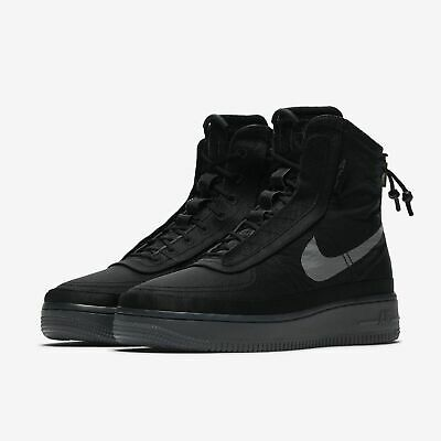 NIKE WOMEN'S AIR Force 1 High Shell Shoes Cream Graphite