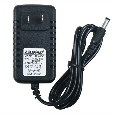 ABLEGRID 3V-3.3V 1A 1000mA AC Adapter DC Power Charger Cord 5.5mmx 2.5mm US Plug