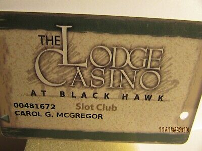 The Lodge Casino At Blackhawk ,CO.-Slot Club card-mint condition