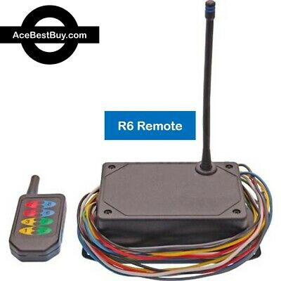 1000' range Wireless 2, 4, 6 or 8 Function Remote