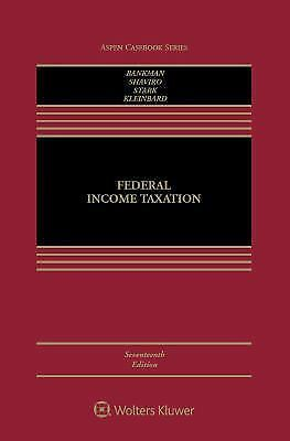 Federal Income Taxation by Joseph Bankman: Brand New & Ready to Ship