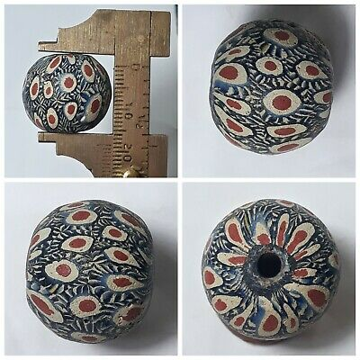 Amyzing Very lovely old roman glass bead