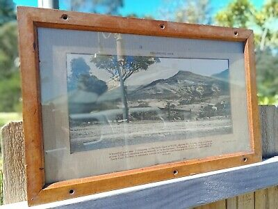 NSWGR Framed Railway Carriage Picture