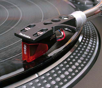 NEW Ortofon 2M Red Cartridge and Technics Head Shell Factory Fitted