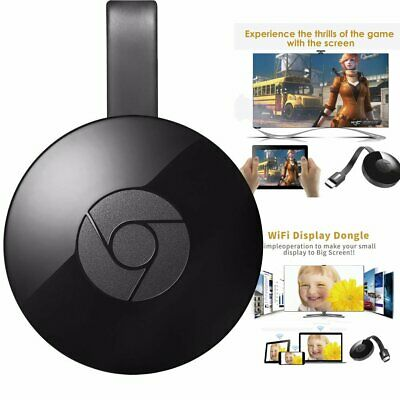 Chromecast TV Streaming wireless HDMI media player Miracast clone mirror G2