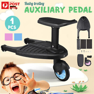 Universal Rider Stand Sit Toddler Tandem Seat Board Connector For Stroller Pram