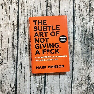 The Subtle Art of Not Giving a Fck by Mark Manson Hardcover