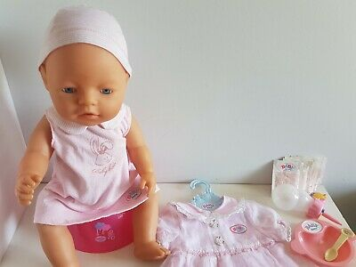 BABY BORN Doll - ZAPF CREATION, Blue Eyes 2003/04, Clothing & Accessories