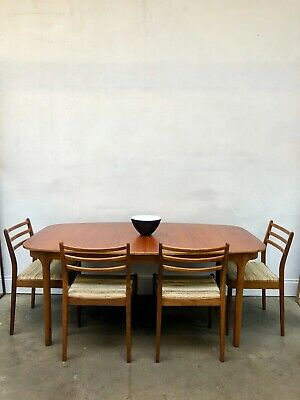 Vintage 1960s Mcintosh Large Oval Teak Dining Table G Plan Danish Retro DELIVERY