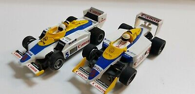 Tyco 440x2 #5 Canon Renault Elf F1 Car Unpackaged !// Free Ship ! NOS