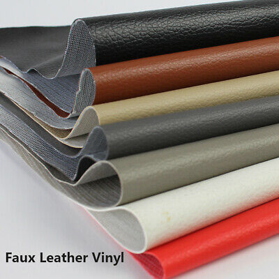 Upholstery Soft Vinyl Faux Leather Fabric used for Reupholstery Retread Projects