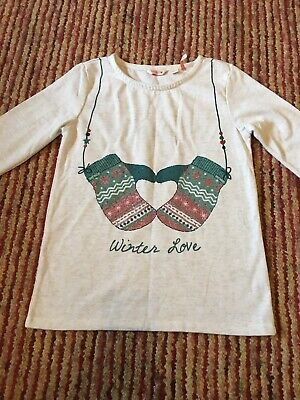 Girls Long Sleeved Top By Fat Face Age 10-11 Worn Once