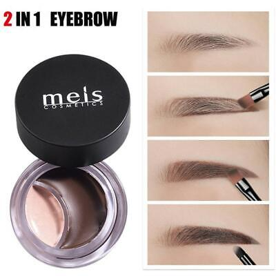 2 In-1 Eyebrow Pencil Waterproof Long Lasting Concealer Make-Up Moisturizer New