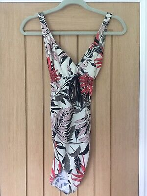 Mamalicious Floral Print Maternity Swimsuit Size L