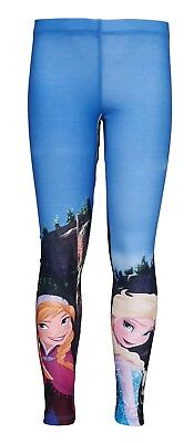 by DISNEY NEW AGE 5 YEARS Girls Sublimation FROZEN Leggings BNWT rrp £17.99