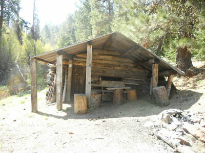 BOISE IDAHO GOLD MINE lode mining claim w/ PLACER CREEK nugget