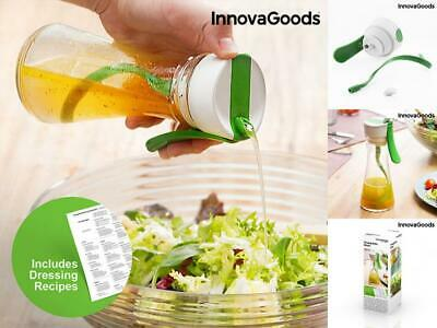 Innovagoods Dressing Mixer with Recipe Book
