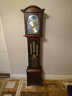 A Fine Triple Chime Grandmother Clock By Smallcombe, England