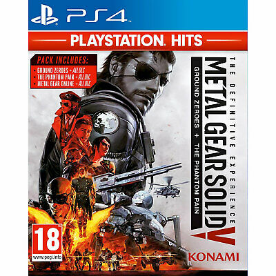 Metal Gear Solid V (MGS 5) The Definitive Experience PS4 PLAYSTATION New&Sealed