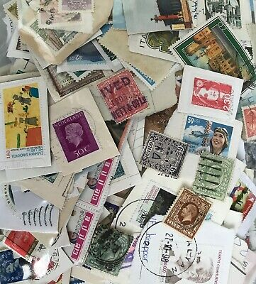 Worldwide inherited unsorted stamp collection Queen Victoria used mint
